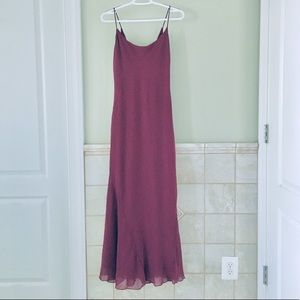 NWOT ASOS Petite Plum Dress